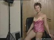 51 Years Linda Teasing Flashing And Playing