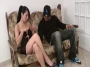 Lili Fucked By 2 Blacks Cocks - Free Porn Video