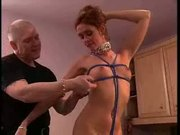 Ropes and nipple clamps - Free Sex Video