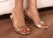 Irresistible Blonde Foot Job - Free Sex Video