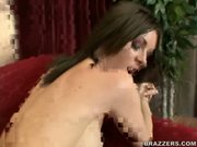 Brandi takes it doggie - Free Sex Video