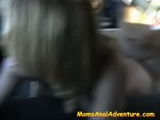 Horny Milf in the Backseat - Free Sex Video