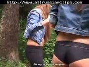 Two Sexy Student(18+) BabeS Work One Cock Russian - Free Sex Video
