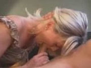 Amazingly sexy MILF enjoys big cock
