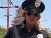 Cop takes advantage of her status