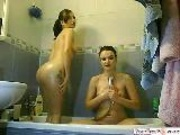 Best Friends Have Some Girltime In The Shower