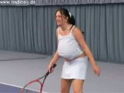 On The Tennis Court - Free Sex Video