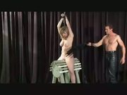 Paddled On A Wooden Horse - Free Sex Video