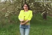 Brenda Plays With Huge Natural Tits In Nature - Free Sex Video