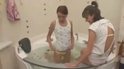 Russian Chicks Playing In A Jacuzzi - Free Porn Video