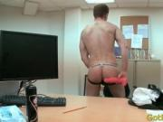 Guy gets deep anal fuck gay sex 3 by GotButtered