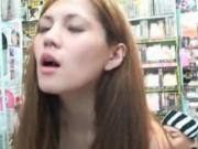 Sexy asian babe gets her wet pussy licked by PublicsexJ