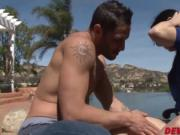 Hot stepmom Savannah Fyre pounded hard by her stepsons