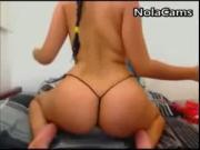 Latina Thong Panties Ass