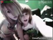 Dirty goth lesbos having crazy on cam by EmoPornGfs