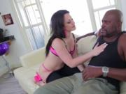 Jennifer seduces stud Lex for and interracial LexBbc.co
