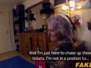 Blonde chick Tallulah hammered in her asshole hard by c