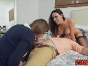 Sweet Dillion Carter and Rachel Stasrr loves big cocks