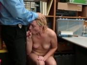 Blonde thief Zoe Parker fucks for freedom