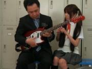 Cute Japanese cosplay girl gets dirty in school by JPNC