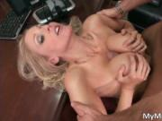 Nasty blond with massive hooters Julia Ann getting scre