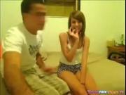 Shy Cutie Makes Her First Sextape