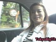 Aki Tomosaki Naughty Asian Teen Goes For A Ride 3 by To