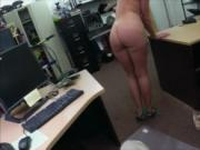 Customers wife screwed at the pawnshop at the pawnshop