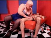 Horny nasty big boobed fat chubby blonde MILF slut Doct