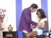 Jezabel Vessir fuck his dick until he cums a nice load