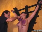 Audreys bdsm Audition 13 by SavageRick