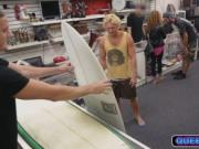 Surf guy tries to sell his boards but gets fucked inste