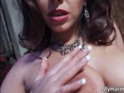 Filthy brunette hoe Liza Del Sierra sucks big hard cock