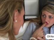 Lustful mature Tanya Tate joins teens