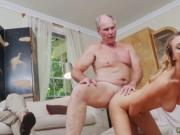 Old cleaning lady and bree olson fucks old Molly Earns