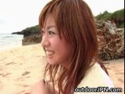 Aki Katase Hot Japanese model fucks outdoors 1 by outdo