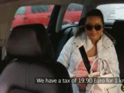 Sexy Mia fucked in the taxi because she cant pay the bi