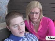 Stepmom MILF Darryl Hannah gets naughty
