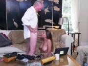 Sexy Ivy Rose strips and got fucked in her pussy