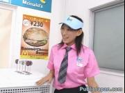Horny Asian girl gets horny in the store 2 by PublicJap