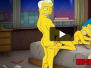 Simpsons cartoon porn lesbian mom