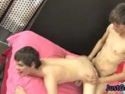 Emo boy fucking movie and loving gay twinks performing
