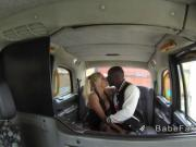 Ex pornstar interracial bangs in her fake taxi