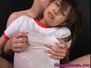 Mimi Kousaka gets fingered and sucks a big and warm coc