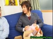 Akane Hotaru japanese maid plays with her pussy 2 JPsch