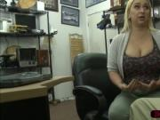 Big ass and titties woman wants to sell a weapon and ge