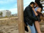 Spanish Claudia Bomb banged in public