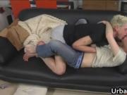 Josh McKenzie and Ariel Cain fucking on old sofa 2 by U