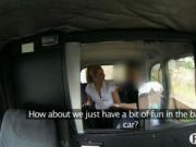 Off duty police woman gets in a fake taxi