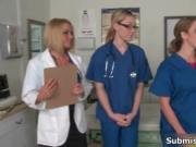 Awesome orgy on doctors office 1 by SubmissiveCFNM